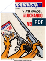 EL RODRIGUISTA (FPMR-A) N° 35 [1988, Agosto]