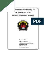 Asuhan Kebidanan Pada Ny. s Uk 35 Mgg