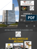 Clase 02 El Reglamento de Metrados-2014