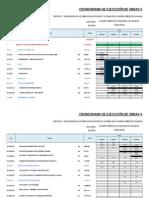 Cronograma valorizado YACUCANCHA