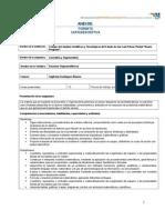 Formato Carta Descriptiva Materia Geometría y Trigonometría
