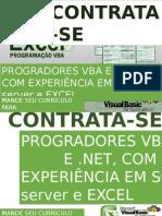 Exemplo de folder de contratação