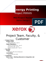 Project Review Presentation Template