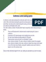 Booking System ERD Case Study