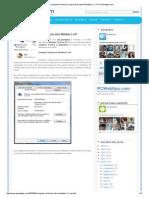 Como Compartir Archivos e Impresoras Entre Windows 7 y XP _ PCWebtips