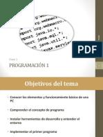 Clase 1 - Implementación Del Primer Programa programacion JAVA