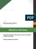 Clase 9 - Matrices programacion java