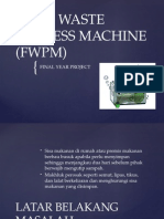 Food Waste Process Machine Fwpm