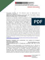 2014 04 21- Foncodes - Sintesis Informativa