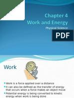 Chapter 4 Work & Energy