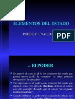 4.Elementos Del Estado El Poder y Fin