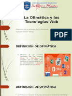 Ofimatica Tecnologías Web
