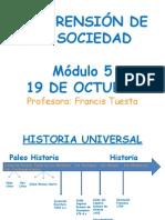 Comprensión de La Sociedad 19 Oct.