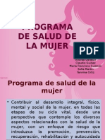 Programa de La Mujer 2014