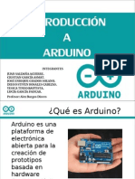 Intro Duccion a Arduino