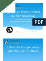 Planear, Enseñar y Evaluar Por Competencias.pptx