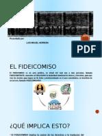 Presentacion El Fideicomiso en Honduras