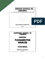 Fundamentos Navales Unidad 8 Estruct. Buque (02) 2011