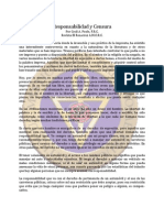 Responsabilidad y Censura - Mar66 - Cecil a. Poole, F.R.C.