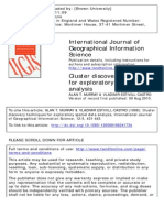 International Journal of Geographical Information Science Volume 12 Issue 5 1998 [Doi 10.1080%2F136588198241734] MURRAY, ALAN T.; ESTIVILL-CASTRO, VLADIMIR -- Cluster Discovery Techniques for Explorat