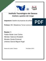 Analisis y Gestion Del Riesgo