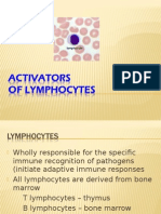 6 Lymphocyte Activators and Antigen Recognition 3