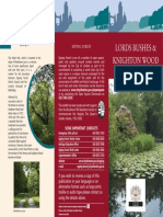 Lords Bushes Knighton Wood Epping Forest Leaflet