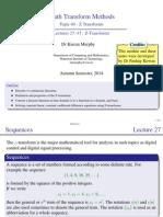 04 01 Z Transforms Slides Presentation