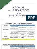 Ejemplo Rubricas Glosario Proyecto Exposicion