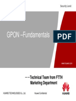 GPON Fundamentals New