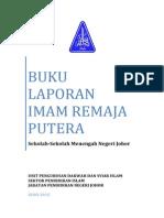 Buku Laporan Imam Remaja (Putera) 2015