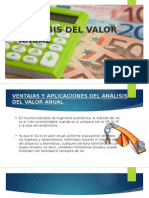 Analisis del Valor Anual