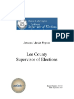 Supervisor of Elections Final Report 10-5-15