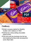Kraft and Cadbury