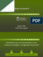 8. Clase (Grupo Funcional II, Energia y Estruc)