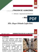 II-1 - Definición - Organización de Almacénes