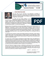 Psychiatry Newsletter.fall 2009