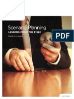Scenario Planning - LESSONS FROM the FIELD - Case Studies