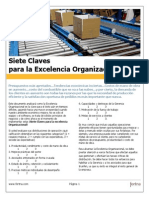 Siete Claves Para La Excelencia Organizacional
