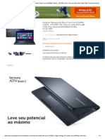 Notebook Samsung Ativ Book 2 Intel Core i5-3230M 2.6GHZ, 1TB, 8GB, 15.pdf
