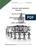 GOBERNABILIDAD TRABAJO-LEY DEL SERVICIO CIVIL – LEY N° 30057