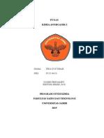 ANORGANIK struktur lewis dan muatan formal