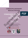 Standards For Resuscitation