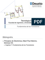 Fundamentos de los transistores