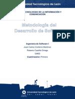 Metodologias Del Desarrollo de Software