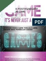 Dampak Positif&Negatif Bermain Game