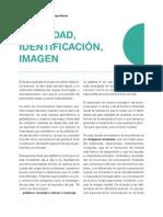 Reporte Lectura- Identidad,Identificación,Imagen