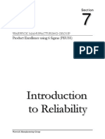 Section 7a Reliability Notes