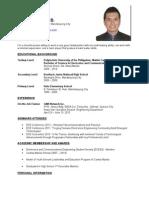 Resume(2x2)