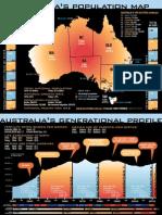 Australia's Population Map 2010